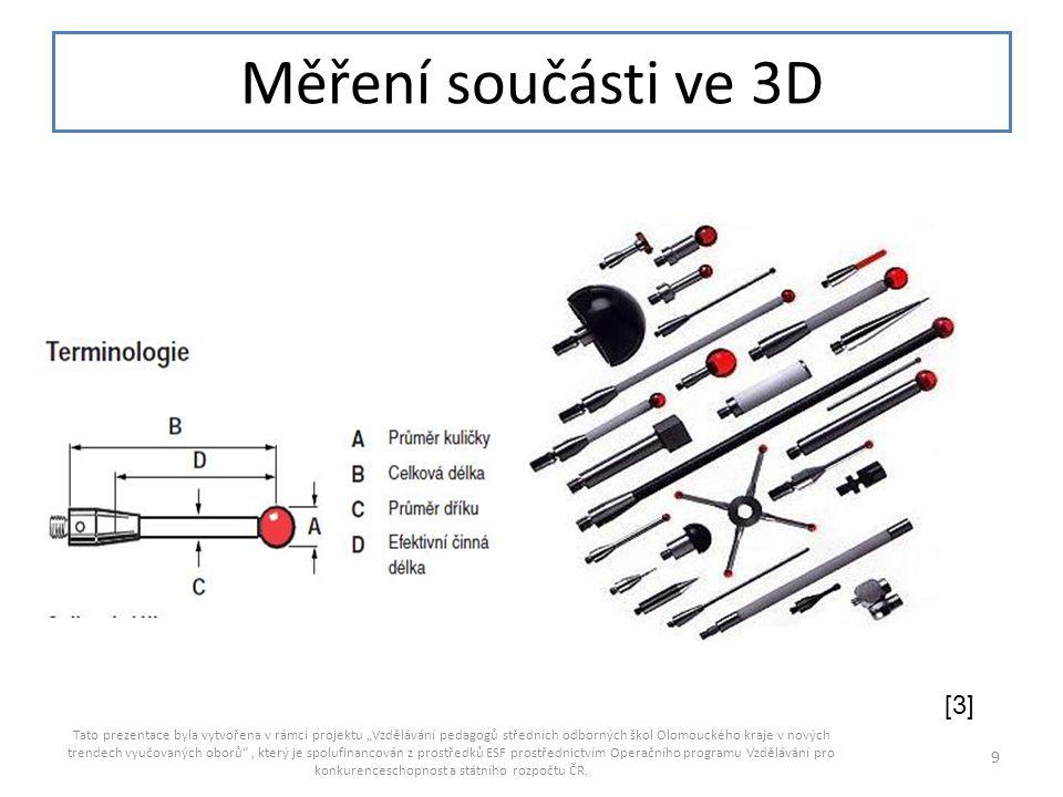 Měření součásti ve 3D [3]